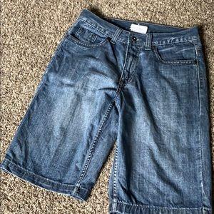 Mens Urban Pipeline jean shorts 30